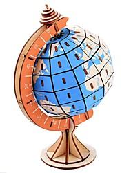 abordables -Puzzles en bois Jeux de Logique & Casse-tête Globe Tour Eiffel Fait à la main Interaction parent-enfant En bois 1 pcs Enfant Adulte Jouet Cadeau