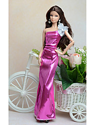 cheap -Dresses Dress For Barbiedoll Modal / Poly / Cotton Dress For Girl's Doll Toy