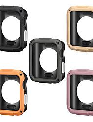 Недорогие -Высокое качество для Apple Watch 40мм 44мм броня чехол для группы iwatch