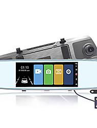 Недорогие -MK-A6 Автомобильный видеорегистратор 170° Широкий угол 10 дюймовый Капюшон с Ночное видение / Циклическая запись / ADAS Автомобильный рекордер