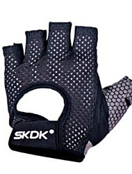 cheap -Half-finger Unisex Motorcycle Gloves Polyster Non Slip / Wearproof / Breathable