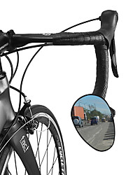 cheap -Rear View Mirror Drop Bar Bike Mirror Adjustable Durable Easy to Install Cycling Bicycle motorcycle Bike Engineering Plastics PVC(PolyVinyl Chloride) Black Mountain Bike MTB Folding Bike Recreational