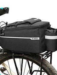 cheap -B-SOUL 6.5 L Bike Rack Bag Multifunctional Large Capacity Waterproof Bike Bag 600D Polyester Bicycle Bag Cycle Bag Cycling Road Bike Mountain Bike MTB Outdoor / Reflective Strips