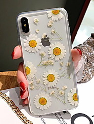 cheap -Case For Apple iPhone XS / iPhone XR / iPhone XS Max Pattern Back Cover Flower Soft TPU