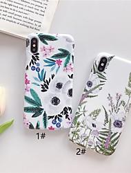 Недорогие -чехол для яблока iphone xr / iphone xs max шаблон задняя крышка цветок мягкая тпу для iphone 6 6 плюс 6 s 6 s плюс 7 8 7 плюс 8 плюс x xs