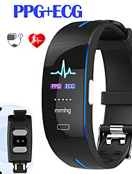 cheap -JSBP P3PRO Men Women Smart Bracelet Smartwatch Android iOS Bluetooth Waterproof Touch Screen Heart Rate Monitor Blood Pressure Measurement Sports ECG+PPG Timer Pedometer Call Reminder Activity Tracker