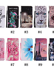 cheap -Case For Motorola MOTOOne / MOTOOnePower Pattern / Flip / with Stand Full Body Cases Animal / Skull / Cat Soft PU Leather for MOTO G4 / Moto G4 Play / Moto G5 / Moto G5 Plus / Moto One / Moto P30 Play