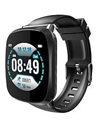 cheap -Smartwatch Digital Modern Style Sporty Silicone 30 m Water Resistant / Waterproof Heart Rate Monitor Bluetooth Digital Casual Outdoor - Black