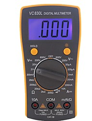 cheap -Professional Electric Handheld AC DC LCD Display Tester Meter Digital Multimeter Multimetro Ammeter Multitester