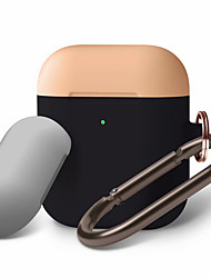 cheap -AirPods Duo Hang Case Body  Compatible with Apple AirPods 2 Front LED Visible Supports Wireless Charging Carabiner for AirPods 2
