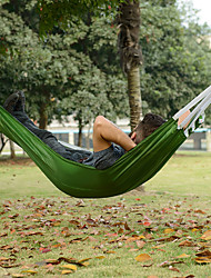 cheap -Naturehike Camping Hammock Outdoor Portable Ultra Light (UL) Foldable Canvas for 1 person Hunting Fishing Beach Orange Green 190*72 cm