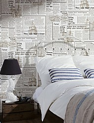 cheap -Wallpaper Plastic & Metal Wall Covering - Adhesive required Print