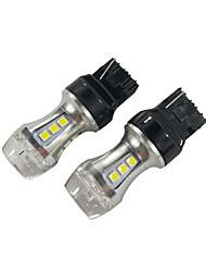 cheap -2PCS DC 10-30V T20 CAN-bus LED Brake Light 18W 7440 LED Tail Light