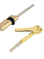 cheap -FKS-SX08 lock Copper Mechanical key unlocking for Door