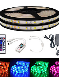 cheap -BRELONG Smart WIFI SMD 2835 9mm Light With RGB 24Keys 10M 600LED IP65 Not Waterproof DC12V With 5A US Power