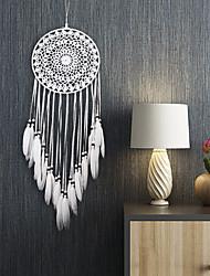 cheap -Boho Dream Catcher Handmade Gift Wall Hanging Decor Art Ornament Craft Feather 70*20cm For Kids Bedroom Wedding Festival