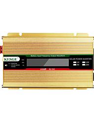 Недорогие -Kesge 500 Вт автомобильный инвертор DC12 / 24-AC220V / 110 В с ЖК-дисплеем домашнего использования мини-инвертор
