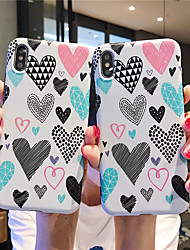 cheap -Case For Apple iPhone XR / iPhone XS Max Pattern Back Cover Food Soft TPU for  iPhone 6  6 Plus  6s 6s plus 7 8 7 plus 8 plus X XS