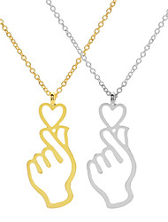 cheap -Women's Necklace Charm Necklace Chrome Gold Silver 45 cm Necklace Jewelry 1pc For Daily Holiday School Street Festival