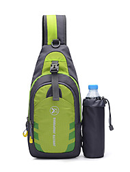 cheap -20 L Hiking Sling Backpack Multifunctional Lightweight Breathable Fast Dry Outdoor Fishing Hiking Camping Nylon Red Green Blue