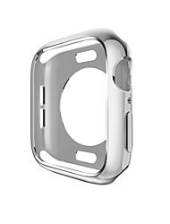Недорогие -Кейс для Назначение Apple Apple Watch Series 4 / Apple Watch Series 3 / Apple Watch Series 2 PU Apple