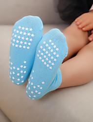 abordables -1 paire Unisexe Chaussettes Standard Couleur Pleine Des sports Style Simple Coton 1-3 ans
