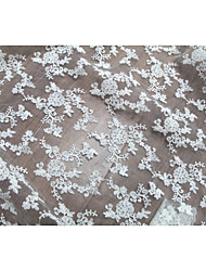 cheap -Lace Solid Pattern 125 cm width fabric for Apparel and Fashion sold by the Yard