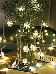 cheap -10m String Lights 100 LEDs Warm White Decorative 220-240 V 1 set