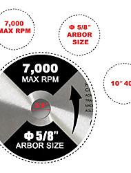 abordables -lame de scie circulaire 10 5/8 40t& 80t 1 pc pour dewalt& makita table carbure