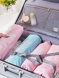 Недорогие -6 шт. / Компл. Туристическое снаряжение ручной прокатки вакуумные компрессионные пакеты уплотнения мешки