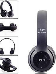 cheap -LITBest P47 Over-ear Headphone Wireless Bluetooth 4.2 Stereo with Microphone with Volume Control Travel Entertainment