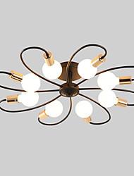 cheap -JSGYlights 8-Light 82 cm New Design Flush Mount Lights Metal Sputnik Painted Finishes Country / Modern 110-120V / 220-240V / E26 / E27