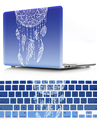 cheap -US Version Flower Pattern Macbook Plastic Hard Case With Keyboard Cover Protective Compatible With New / Old MacBook Air Pro Retina 11/12/13/15 Inch