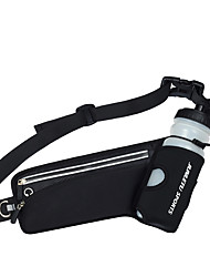cheap -Hiking Waist Bag Multifunctional Lightweight Breathable Rain Waterproof Outdoor Hiking Cycling / Bike Running Lycra Green Blue Dark Gray / Marathon