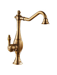 cheap -Kitchen faucet - Single Handle One Hole Antique Copper Tall / ­High Arc Other Antique Kitchen Taps