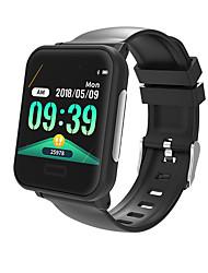 abordables -BoZhuo E33 Hommes femmes Bracelet à puce Android iOS Bluetooth Imperméable Moniteur de Fréquence Cardiaque Mesure de la pression sanguine Sportif Calories brulées ECG + PPG Chronomètre Podomètre