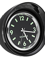 cheap -X65 Mini Luminous Car Mechanics Quartz Clock Noctilucent Watch Digital Pointer Dashboard Clock - Black