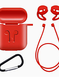 cheap -1Set TPU Silicone Bluetooth Wireless Earphone Case for AirPods Protective Cover Skin Accessories for Apple Airpods Charging Box