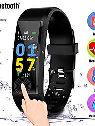 cheap -Men's Digital Watch Digital Casual Water Resistant / Waterproof Digital Black Red Blue / One Year / Rubber / Stopwatch / Large Dial