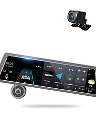 cheap -Factory OEM D10 1080p Car DVR 170 Degree Wide Angle 10 inch Dash Cam with GPS / Parking Monitoring / Loop recording Car Recorder