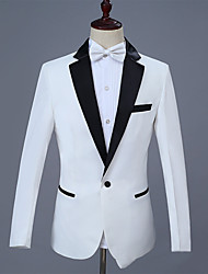 cheap -Tuxedos Tailored Fit Peak Single Breasted One-button Cotton