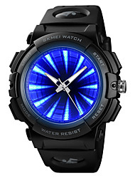 cheap -SKMEI®1521 Men Women Smartwatch Android iOS WIFI Waterproof Sports Long Standby Color Gradient Dual Time Zones