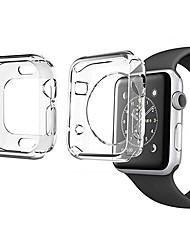 Недорогие -2 пакета для серии Apple Watch 4 3 2 1 Защитная пленка для экрана чехол мягкий прозрачный тонкий 40мм 44мм 38мм 42мм