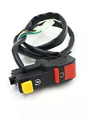 cheap -22mm Universal Motorcycle ATV Dirt Bike Handlebar Stall Flash Kill Stop Button Headlight Horn Switch