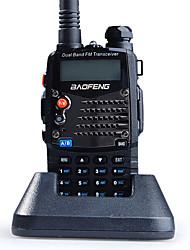 Недорогие -Баофэн портативный водонепроницаемый 3 км-5 км 3 км-5 км 5 Вт рация двусторонней радиосвязи