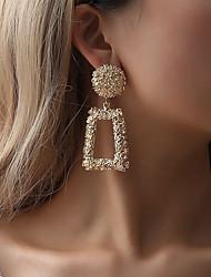 cheap -Women's Earrings Classic Earrings Jewelry Black / Rose Gold / Gold For Street Bar 1 Pair
