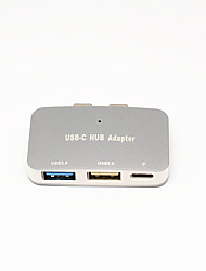 cheap -Unestech DSZD5115-T806 G USB 3.0 Type C to USB 2.0 / USB 3.0 USB Hub 3 Ports High Speed / OTG / Support Power Delivery Function