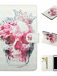 cheap -Case For Apple iPad (2017) iPad (2018) PU Leather Material 3D Painted Pattern Flat Case for Apple iPad Air 2 iPad Air 2 iPad 2 / 3 / 4 iPad Pro 10.5 iPad mini 1 / 2 / 3/4/5