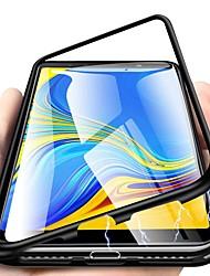Недорогие -магнитный чехол для samsung galaxy note 10 plus / m10 (2019) / j6 plus 360-градусный телефон из закаленного стекла с металлической металлической крышкой Fundas чехлы для магнитов для samsung m20 / m30