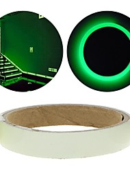 cheap -1PC Green Luminous Tape Glow In The Dark Self-adhesive Warning Security Tape